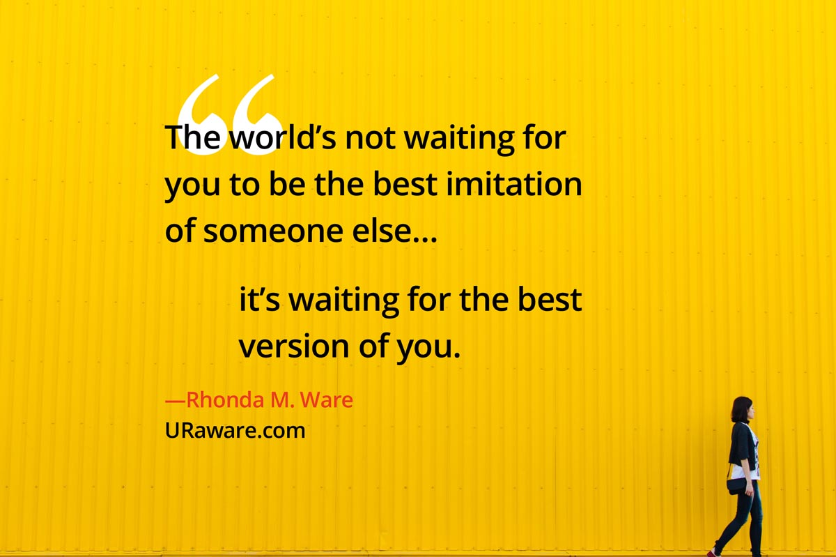 The World Is Not Waiting…